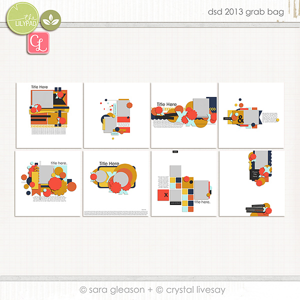 DSD 2013 Grab Bag by Sara Gleason and Crystal Livesay