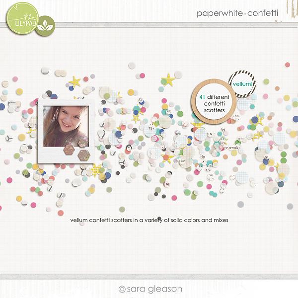 Paperwhite {confetti}