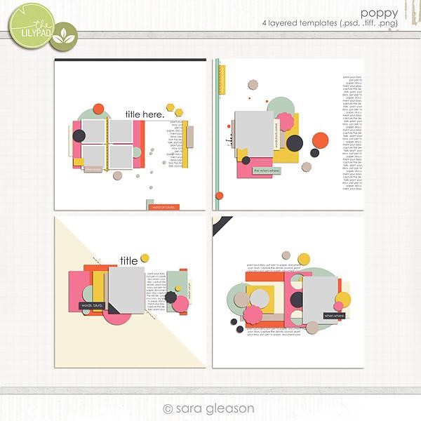 Poppy page designs