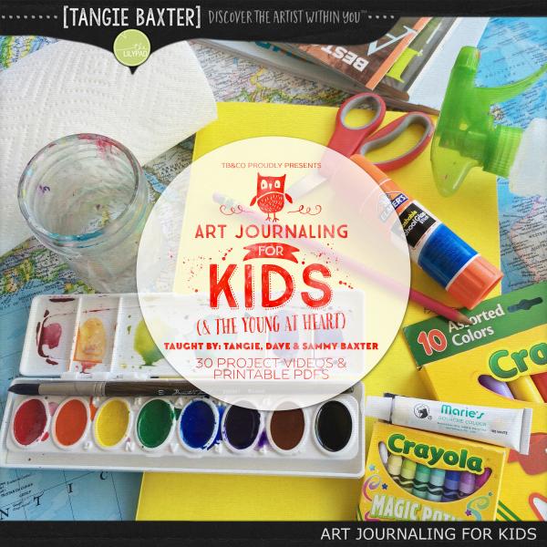 Art Journaling For Kids Online Workshop