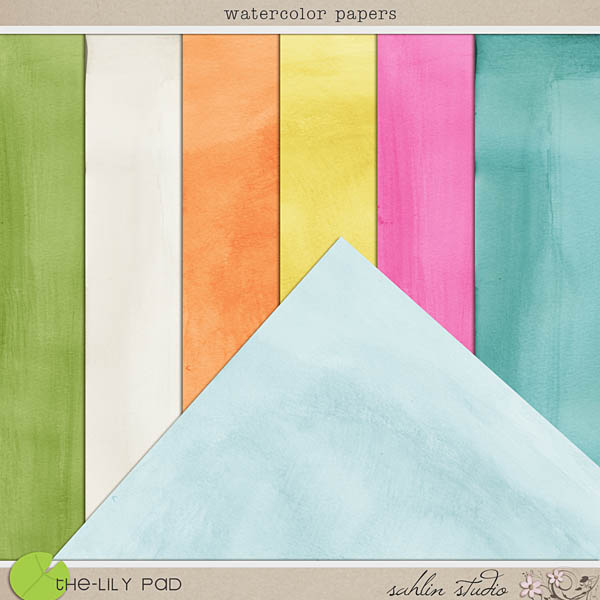 Watercolor papers by Sahlin Studio