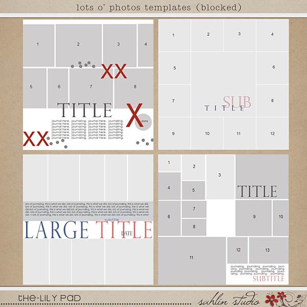 lots o photos templates (blocked) by sahlin studio