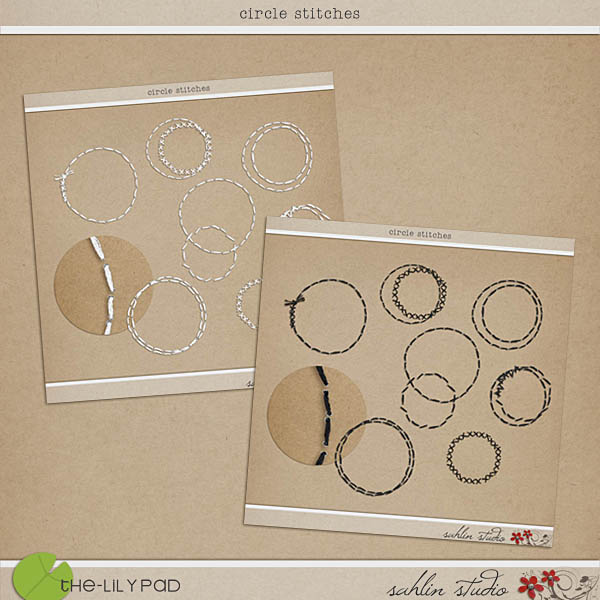 Circle Stitches by Sahlin Studio