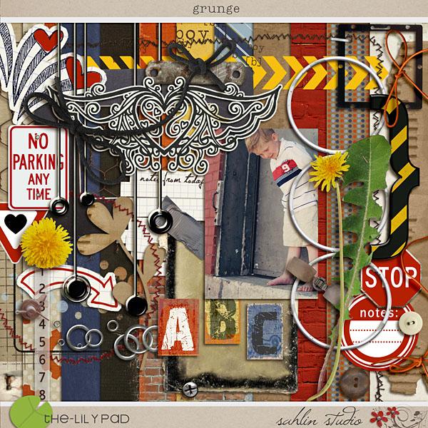 Grunge by Sahlin Studio and Decrow Designs