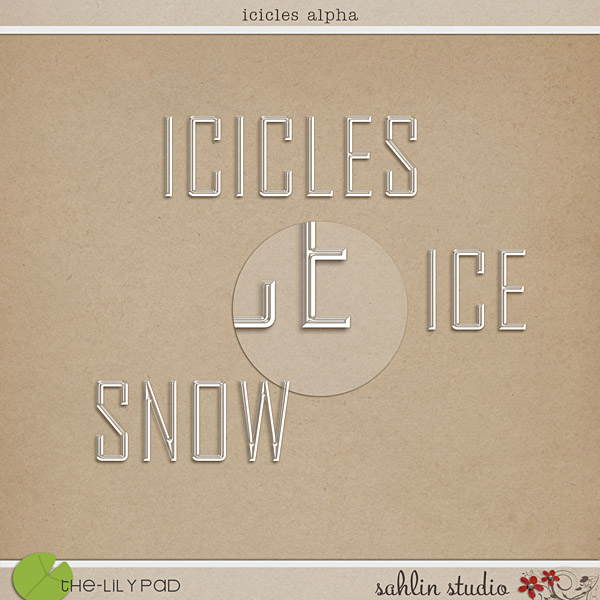 icicles alpha by sahlin studio