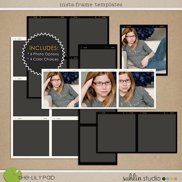 Frames | Digital Scrapbooking Elements – The Lilypad