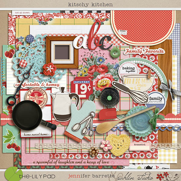 Digital Scrapbooking Kits Scrapbook Kits The Lilypad