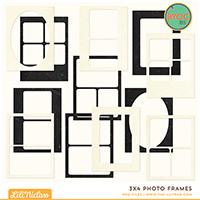 3x4 Photo Frames