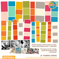 "6"" Photo Strips"