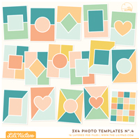 3x4 Photo Templates No.4
