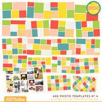 4x6 Photo Templates No.4