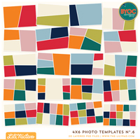 4x6 Photo Templates No.6