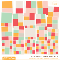 6x8 Photo Templates No.1