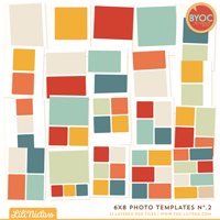 6x8 Photo Templates No.2
