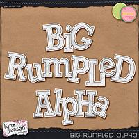 Big Rumpled Alpha