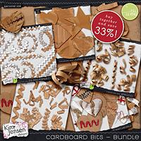 Cardboard Bits - Bundle