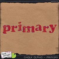 Chalk Alpha - Primary