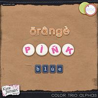 Color Trio Alphas
