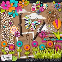 Garden Pop Elements