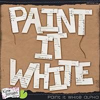 Paint It White Alpha