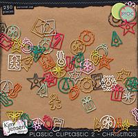 Plastic Cliptastic 2 – Christmas