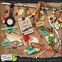 Random Moments Elements