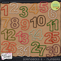 Stringbats 6 - Numbers