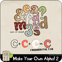 Make Your Own Alpha! 2 {CU}