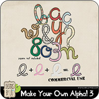 Make Your Own Alpha! 3 {CU}