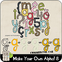 Make Your Own Alpha! 8 {CU}