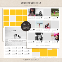 2015 Poster Calendar Kit (16x20)