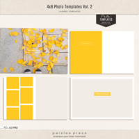 4x6 Photo Templates Vol. 2