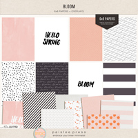 Bloom (6x8 papers + overlays)