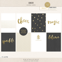 Cheer | 3x4 Journal Cards