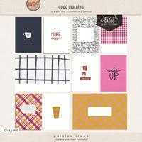 good morning (journaling cards)