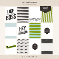 hey there handsome (journal cards)