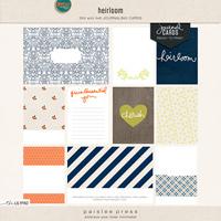 heirloom (journal cards)