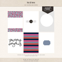 his & hers (journaling cards)