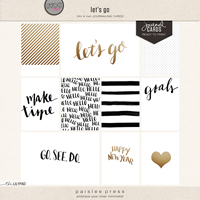 let's go (journal cards)
