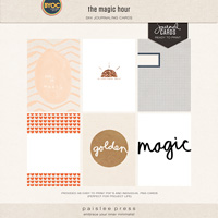 the magic hour (journaling cards)