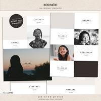 Minimalist (6x8 Collage Templates)