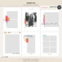 modern art | 6x8 Templates