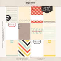 dayplanner journal cards