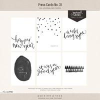 press cards no. 31