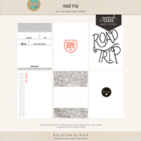 road trip (journal cards)