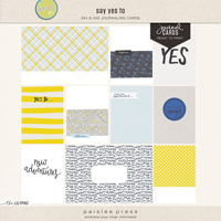 say yes to (journal cards)