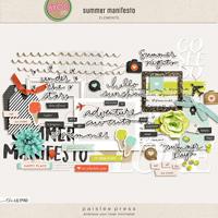 summer manifesto elements