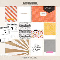 sunny days journal cards