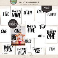 this day in december no. 2 | journal cards + overlays