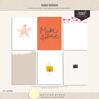 make believe (journal cards)